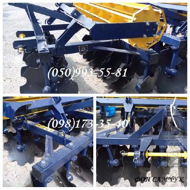 AGD is 2.1 disc harrow, mounted