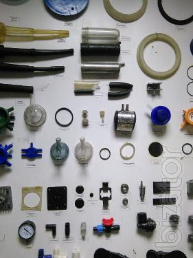 Spare parts for milking machines, valves, membranes, blades and more