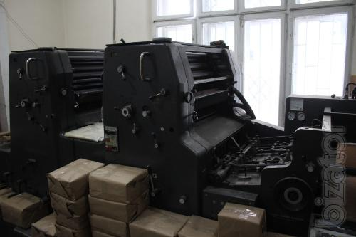 Printing machine Heidelberg MO-Z