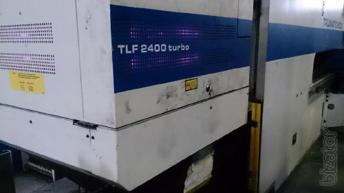 Combined laser press Trumpf Trumatic 600 L - 1600