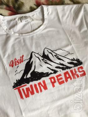 T-shirt twin Peaks