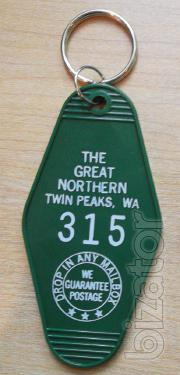 Keychain, Great Northern hotel from the show T