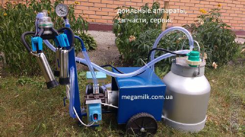 The milking unit AID 1 Kombi, oil, quiet