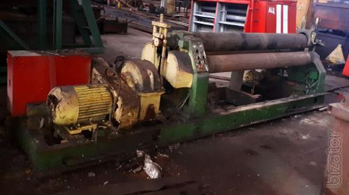 И2220 (10х2000 mm) the Machine plate bending roll ( rolls ).