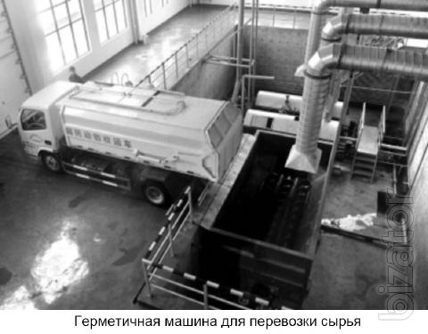 Equipment for the production of meat and bone meal, animal oil and vegetable oil
