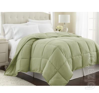 Quilted bedspread luxury apartments