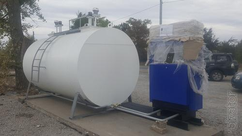 Gas station mini modular manufacturing, delivery and installation of Ukraine