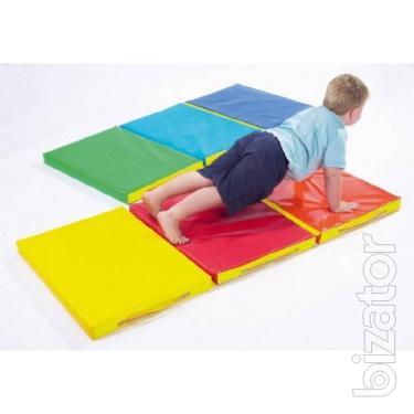 Foldable baby Mat 150х50х5 cm, 3-piece
