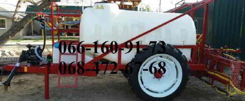 Trailed sprayer GP - 2000l, OP-2500l.