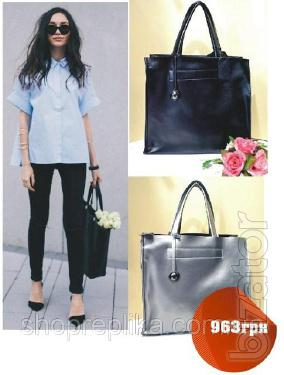 Bag genuine leather ЅК258в Leather handbags, handbags leather