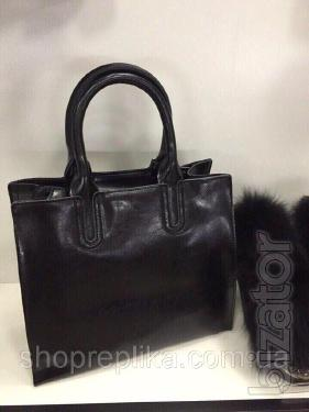 Bag genuine leather ss258458 leather bags black