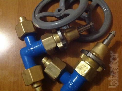 Valve AZT-10-15/250, KS 7141 valve, the valve Rompuy COP 7141 Valves for shutoff of gas pipelines of compressed air and the products of his section