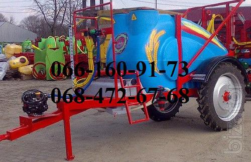 The Maksus trailed sprayer 2000l, 2500l
