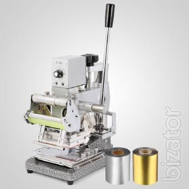 Press machine for hot stamping foil and printing of TJ – 90A