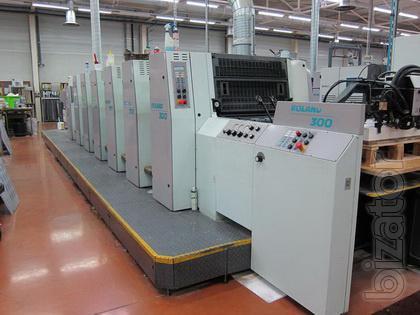 Printing equipment: Roland 306