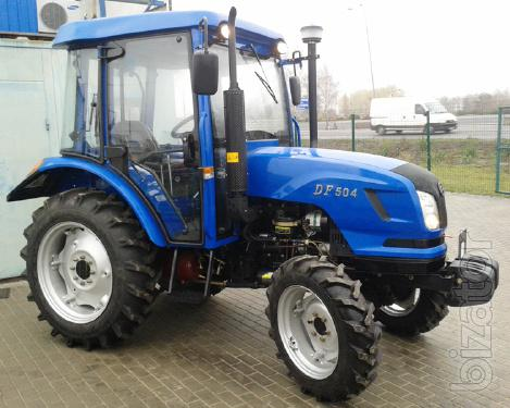 Tractor Dongfeng-504 (Dongfeng-504) with cab