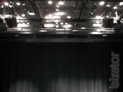 Theatrical equipment for auditoriums.