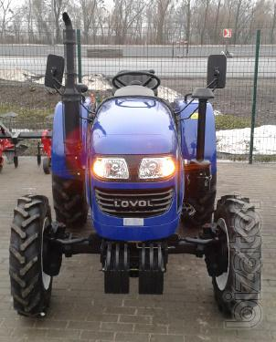 Mini Foton Lovol tractor TE-244 (Photon TE-244) with wide tyres