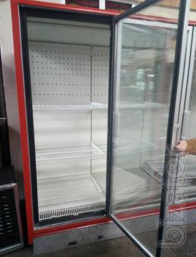 Refrigerated vending Cabinet showcase 5 glass door Linde Velando