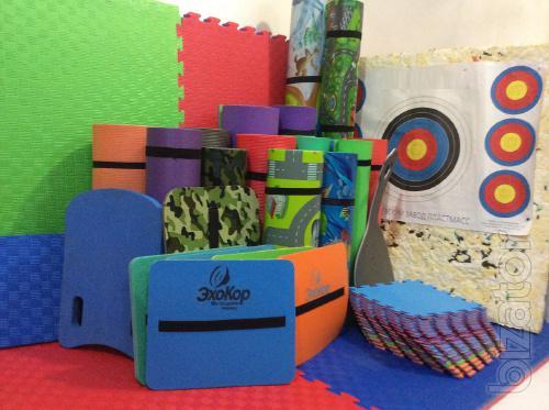 Developing Mat for children Ocean and Childhood