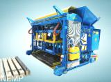 Vibropress for the production of lintels squared