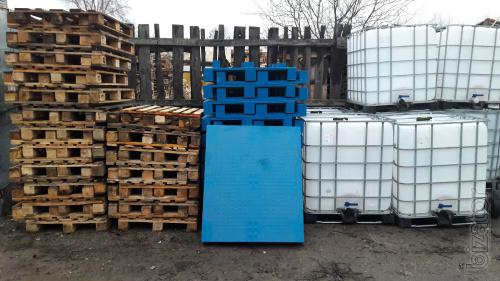 Sell non-standard pallets. Pallets wooden, plastic.