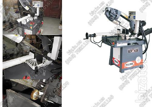Semi-automatic metal band saw PPS-250HPA