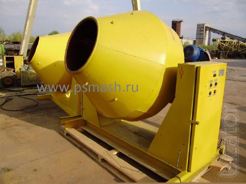Concrete mixers 1 and 1.5 cube from the manufacturer