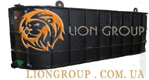 Container for the transport of liquid fertilizer UAN