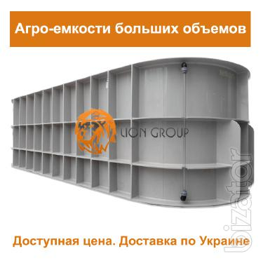 Tank for transportation from the manufacturer