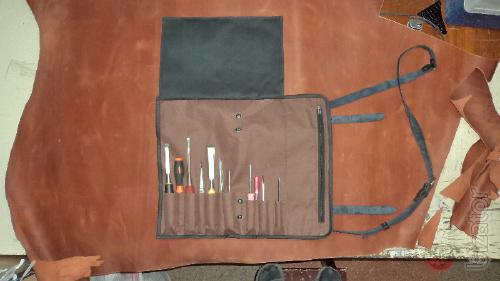 The covers and rolled from Cordura for knives and tools for different purposes