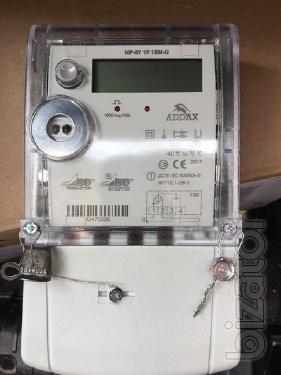 Electricity meter NP07 1F 1SMU Add energy