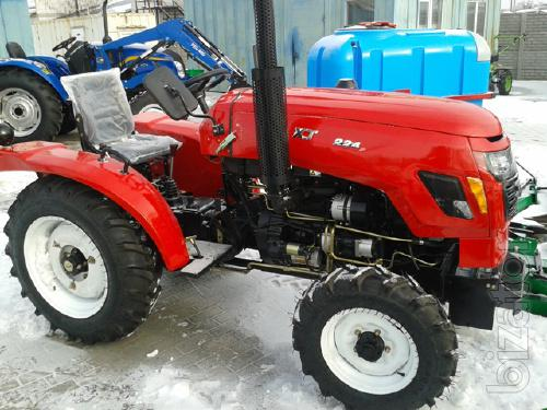 Mini-tractor Xingtai-224 (Xingtai-224) 3-cylinder with power