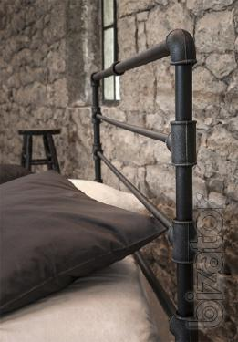 Bed wrought iron LOKIS