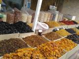 The candied fruit. Dried fruits. Nuts