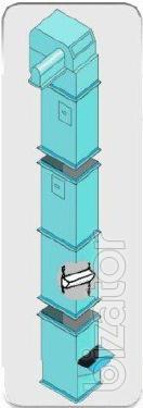 Elevator bucket TSG - 200, 400, 650