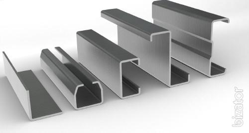 Production of roll-formed profiles. Bent profile.