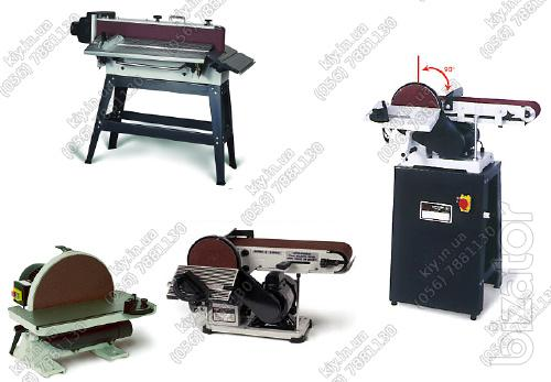 Grinding machines for wood