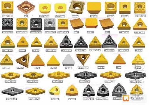 Plate carbide