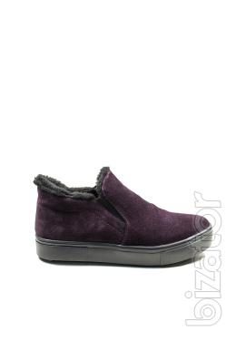 Casual shoes for winter (purple)