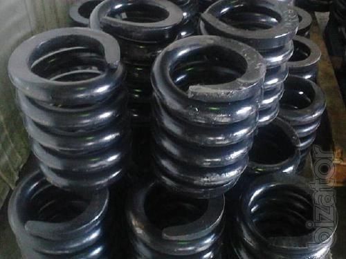 Springs for vibrating screens