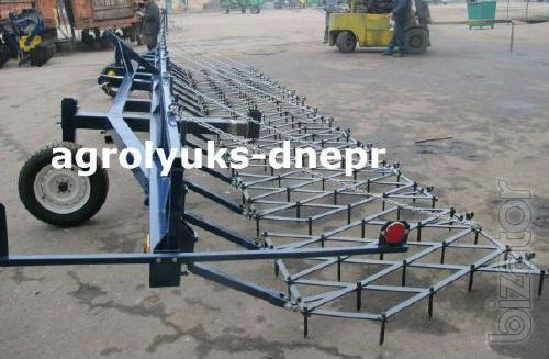 Factory Szb - 8m, the coupling teeth of the harrows 8 m