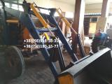 Front loader for tractors MTZ, UMZ, T-40 discharge with 4,5 m with quick-attach bucket.