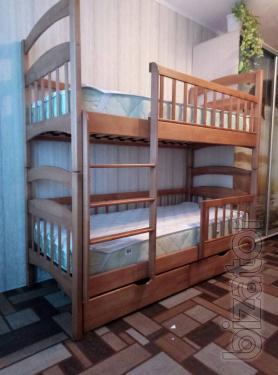 "Bunk bed ""Karina-Luxury"" Strengthened. Action"