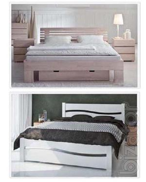 Double beds. Action from the manufacturer