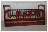 The action on the cots from the manufacturer.