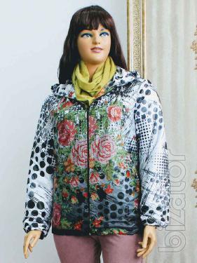 Jacket winter women's large size