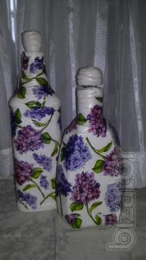 """Decorative bottle """"Spring mood"""""""