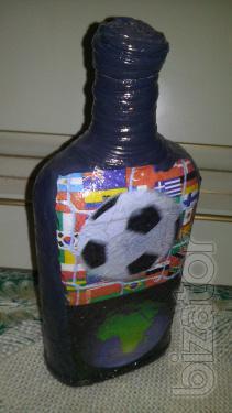 Decorative multifunction bottle