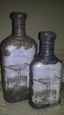 """Decorative bottle of""""the Seagull"""""""